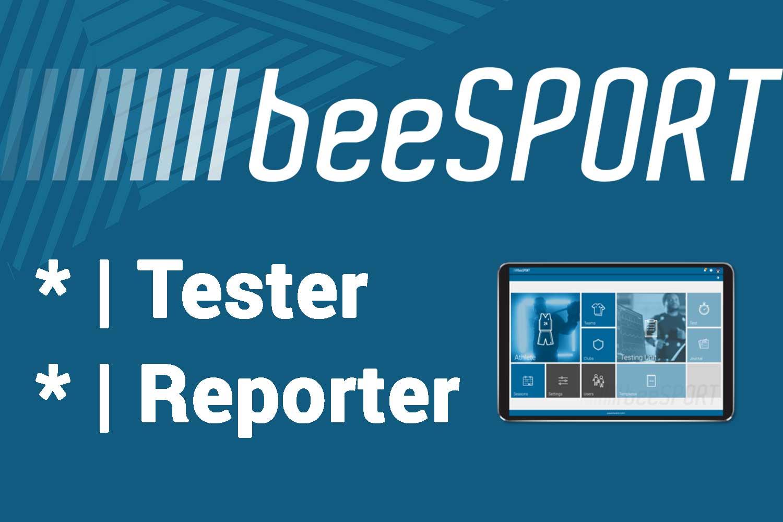 beeSPORT Tester a Reporter